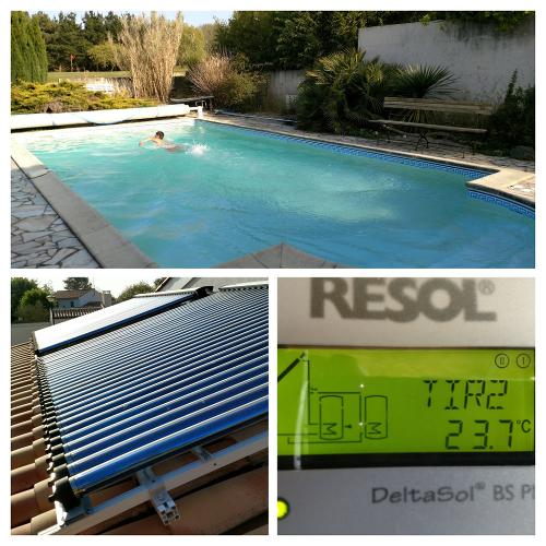 Rechauffeur piscine solaire perfect chauffage solaire for Tapis chauffant piscine